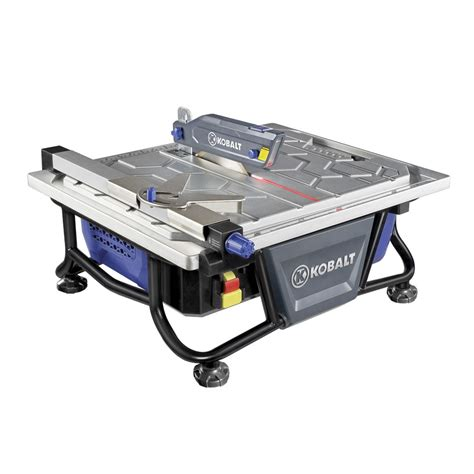 shop kobalt 7 in tabletop tile saw at lowes com