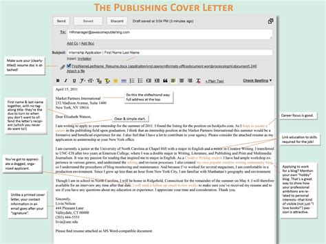 cover letter in email cover letter sles cover
