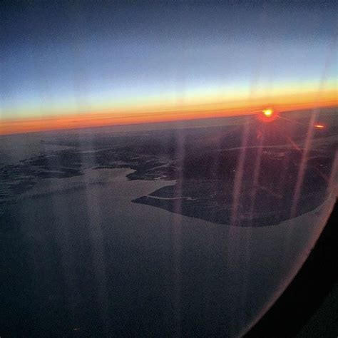 watched sun rise england today crossed atlantic
