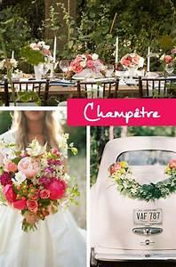 Mariage Theme Champetre : choisir son th me de mariage boh me hippie ou champ tre ~ Melissatoandfro.com Idées de Décoration