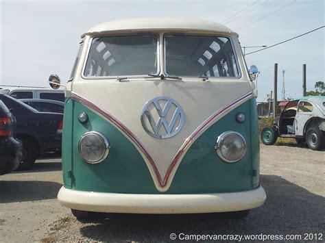 volkswagen hippie van front 23 window cervan crazy
