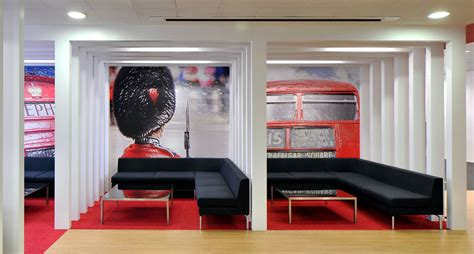 inspiring british office interior design  rackspace