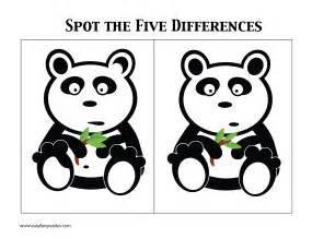 Easy Spot the Difference Puzzles