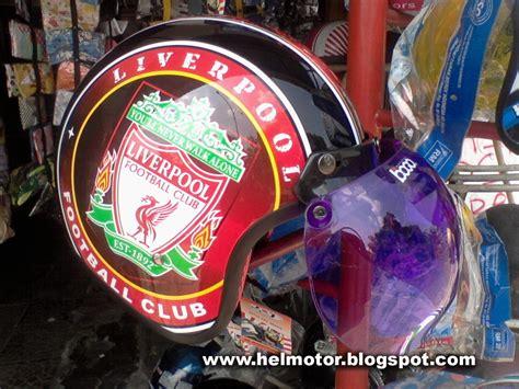 helm retro bogo motif logo bola idr 210 ribu tm moto