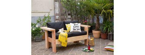 fabriquer un canapé diy fabriquer un canapé de jardin zone outillage