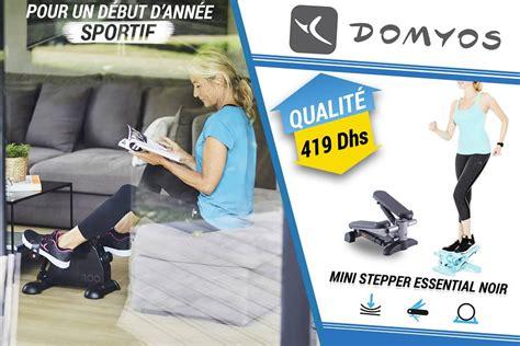 decathlon maroc promotion sur les machines sportif domyos
