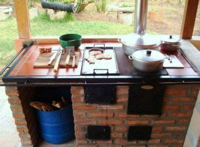 cocinas de lena rusticas buscar  google estufas
