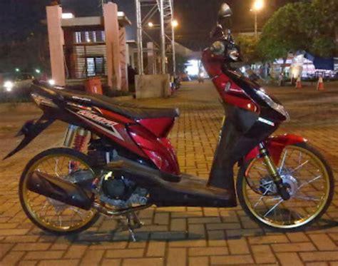 Modifikasi Honda Beat Karbu 17 foto modifikasi honda beat karburator raja kontes