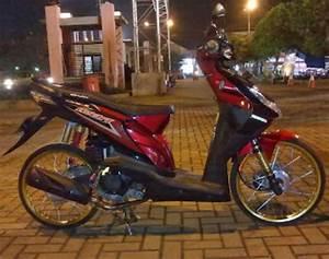 Foto Modifikasi Honda Beat Karburator  Raja Kontes Modifikasi -
