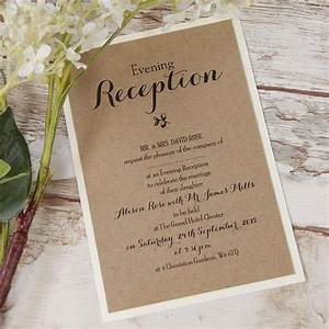 evening wedding invitations cartalia With wedding invitations for the evening