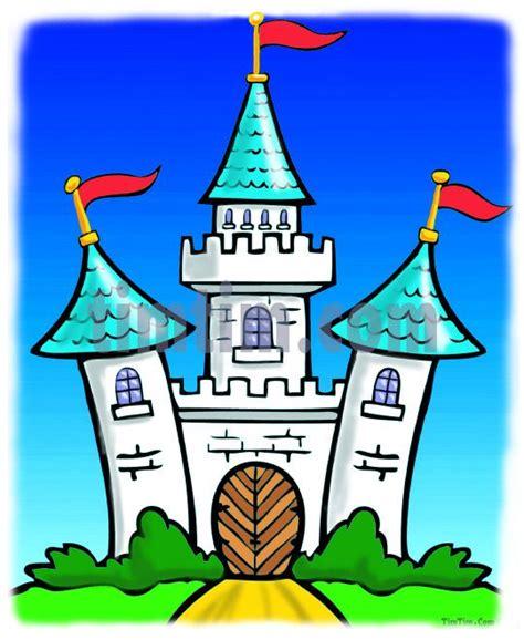 cartoon castle   coloring