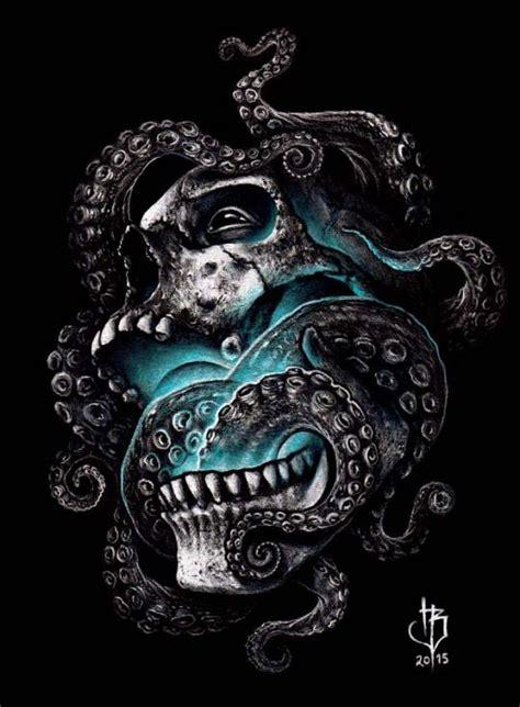 Skull Tentacles Herrerabrandon Tastic