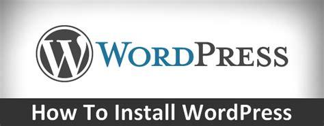Wordpress 101  Installing Wordpress Locally Wparena