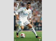 REAL MADRID SPORTS POSTER CRISTIANO RONALDO IN ACTION