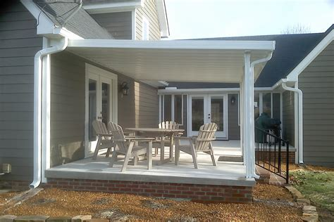 photo gallery  traditional aluminum patio covers