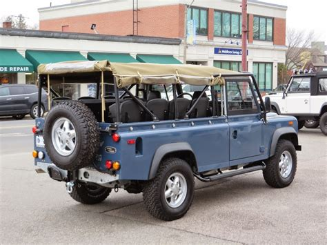 land rover defender convertible 1994 land rover defender 110 convertible copley motorcars