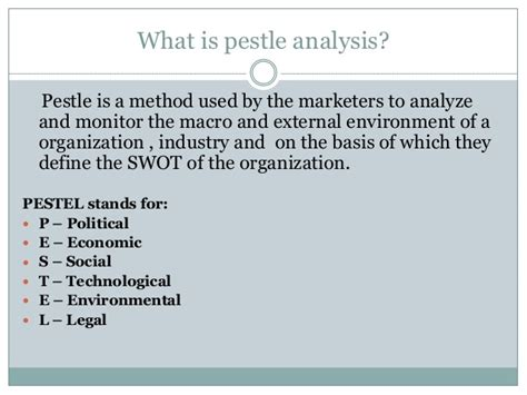 pestle analysis bcg matrix  porters  forces