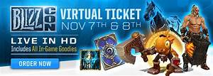 WoW: BlizzCon Virtual Ticket Digital Goods Revealed ...