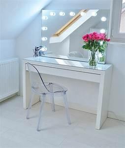Coiffeuse Pour Chambre : miroir pour coiffeuse ~ Teatrodelosmanantiales.com Idées de Décoration