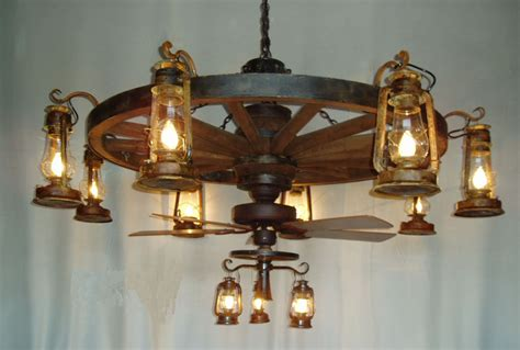 why you should a wagon wheel ceiling fan in your home