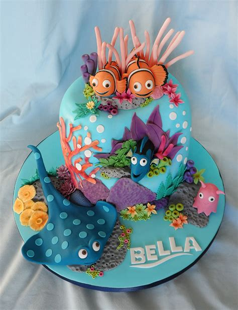 Finding Nemo Birthday Cake  Cakes By Natalie Porter