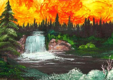 Bob Ross Beginners Tips & Paintings