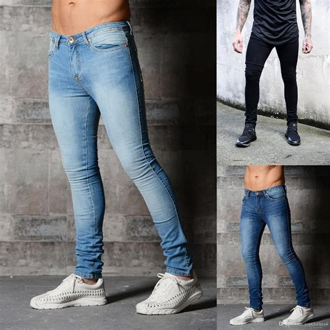 wholesale high quality italian fashion mens jeans famous brand printed jeans men