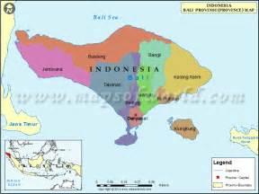 World Map Bali Indonesia