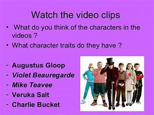 Charlie and the chocolate factory - Character traits