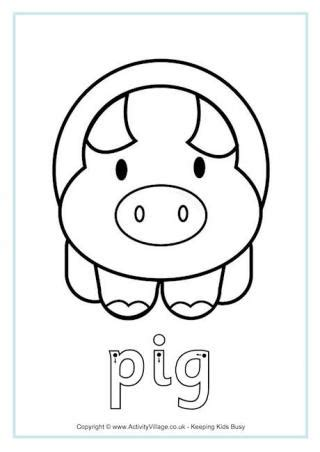 Permalink to Year Of The Pig Colouring Page