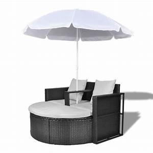 Canape Rond Exterieur : la boutique en ligne canap de 2 places rond noir avec le ~ Teatrodelosmanantiales.com Idées de Décoration