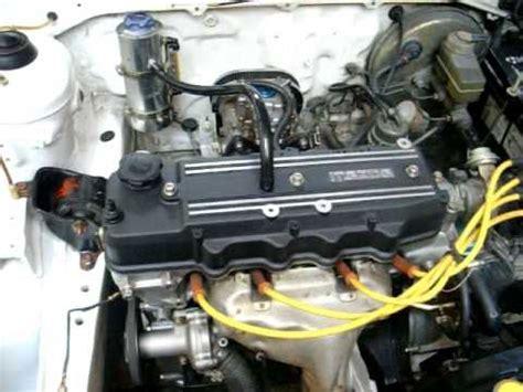 how cars engines work 1991 mazda familia engine control mazda 323 e5 engine youtube