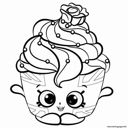 Coloring Season Cream Ice Shopkins Pages Printable