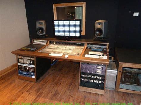 home studio mixing desk recording studio furniture gallery custom mixing desks by