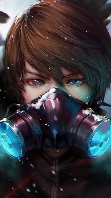 Anime Boy Mask Wallpapers Wallpaper Cave