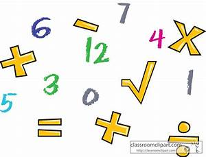 Math Symbols Background | Clipart Panda - Free Clipart Images