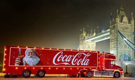 coca cola christmas truck   confirmed