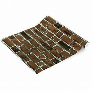 Self adhesive wallpaper brick wall