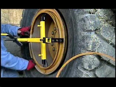ring master change large tires  min