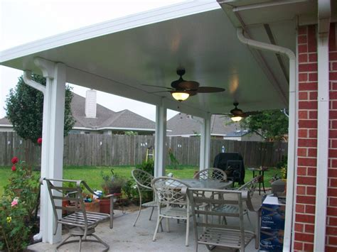 aluminum patio roof panels patio covers in houston tx lone patio builders