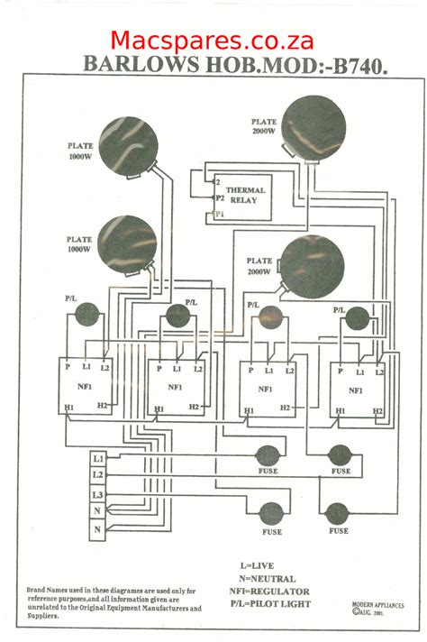 Wiring Electric Stove by Wiring Diagrams Stoves Macspares Wholesale Spare