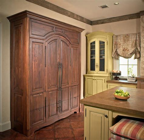 glaze on kitchen cabinets draper dbs gallery rustic kitchen yellow chipped paint 3833