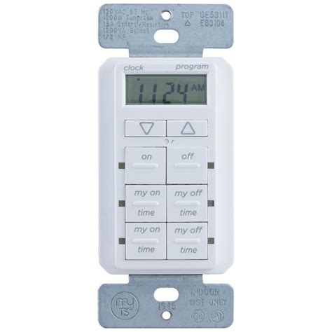 mytouchsmart simple in wall digital timer 26893 p1
