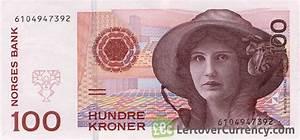 100 Norwegian kroner without hologram strip - Exchange ...