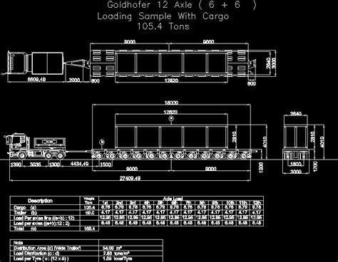 goldhofer dwg block  autocad designs cad