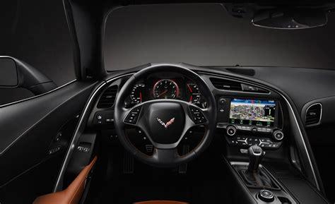 corvette stingray interior car and driver