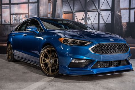 2017 Fusion Sport by 2017 Ford Fusion Sport By Legacy Innovations Front Quarter