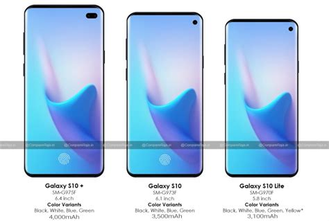 samsung galaxy s10 series price and live leaks