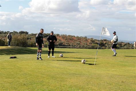 footgolf antequera golf open compete fifty held players andalucia andalusian andalucia