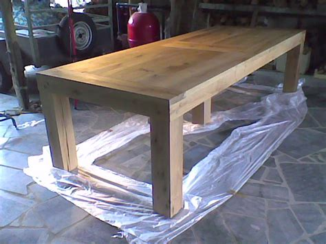 fabrication table de jardin bois jsscene des id 233 es